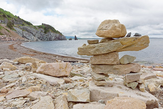 Inukshuk On Cape Breton Island | by baldheretic