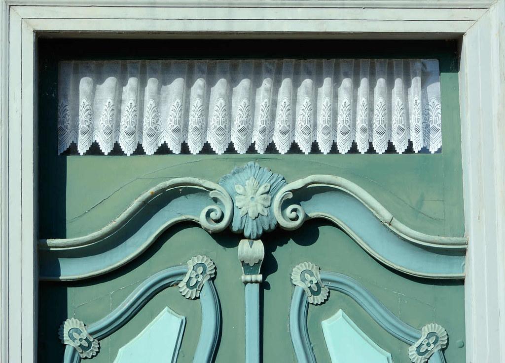 5526 Detail einer Schmucktür in Bleckede   aufgesetzte Lei…   Flickr