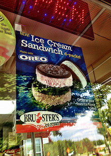Oreo Ice Cream Sandwiches | by Bakerella