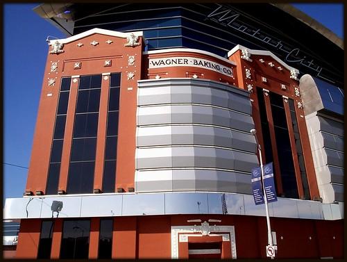 Motor city casino former wagner baking company plant de for Motor city hotel detroit