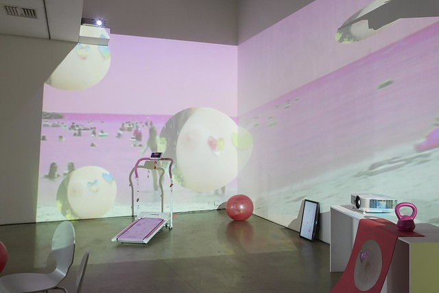 Platform residency, Helen Benigson, Weightless Utopias (11 February - 1 March 2014) Site Gallery