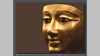 1040–0992 460 PHARAOHS OF EGYPT- Golden Mummy Mask of General Wendjebauendjed, Reign of PSUSENNES I. Egyptian Museum Cairo - photo Hans Ollermann 2016. | by Hans Ollermann