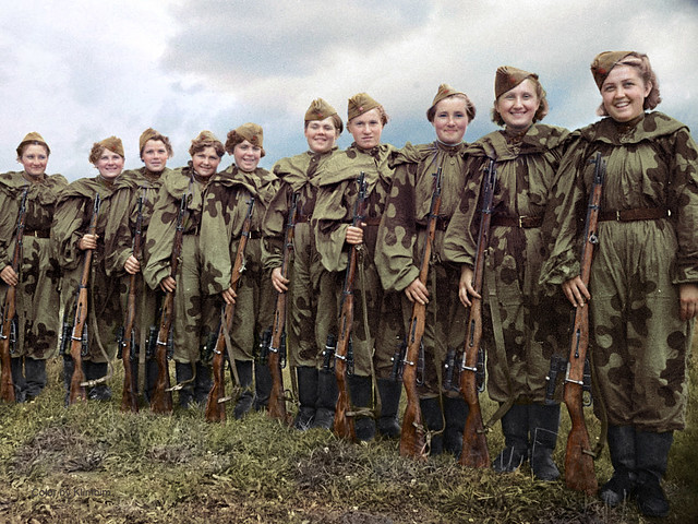 Central Women's School of Sniper Training, 1943