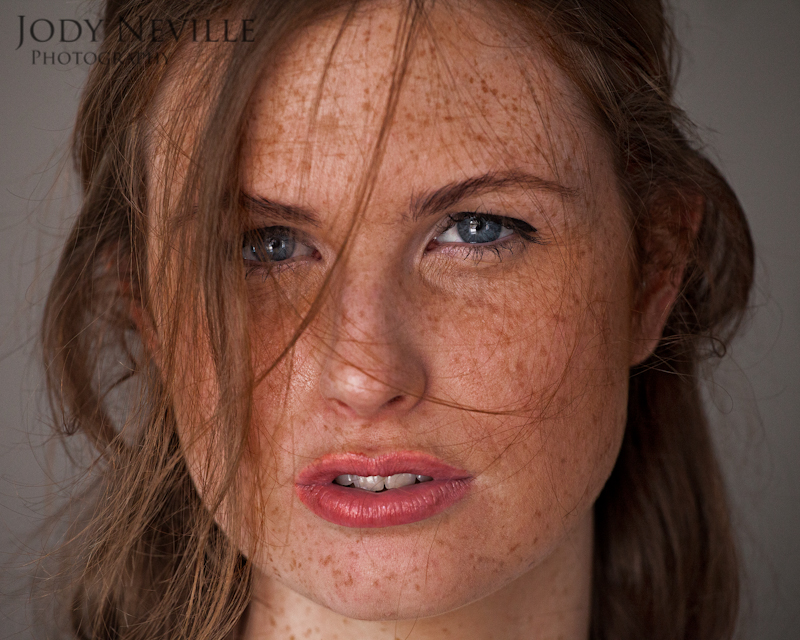 Freckled redhead images