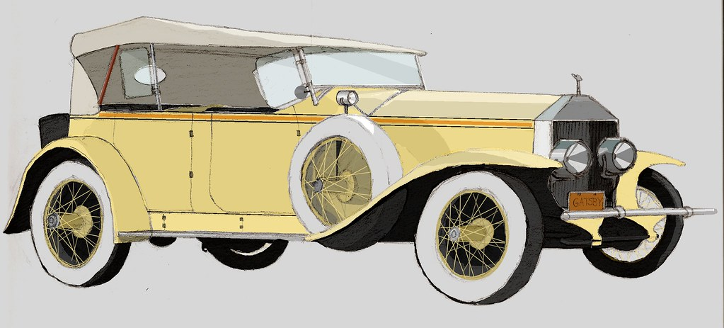 Gatsby's Rolls Royce | This was for a project for