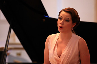 Jette Parker Young Artist Hanna Hipp performing in a lunchtime recital © ROH | by Royal Opera House Covent Garden