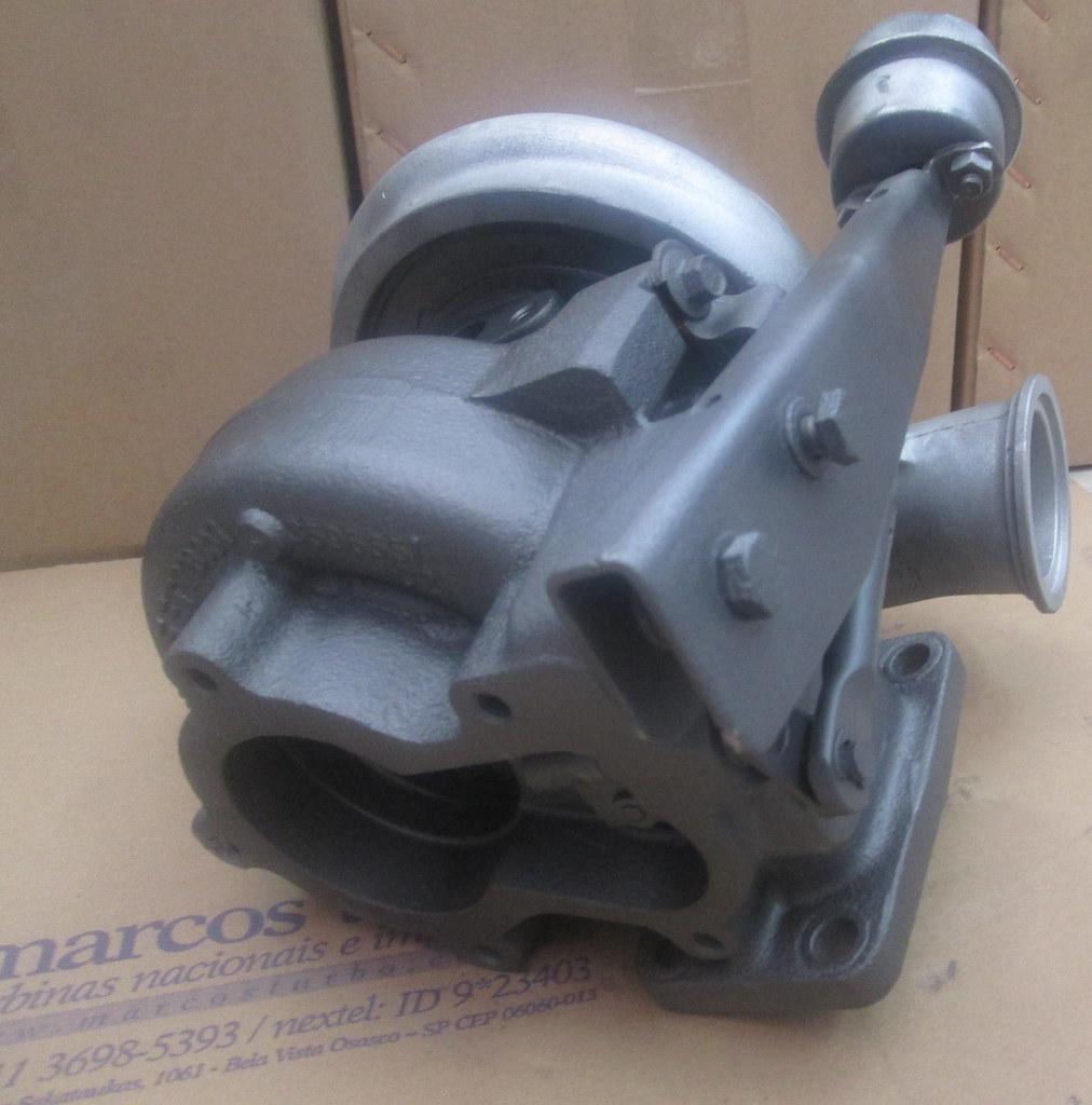 Turbo Holset HX35 | O modelo HX35 da marca Holset está prese