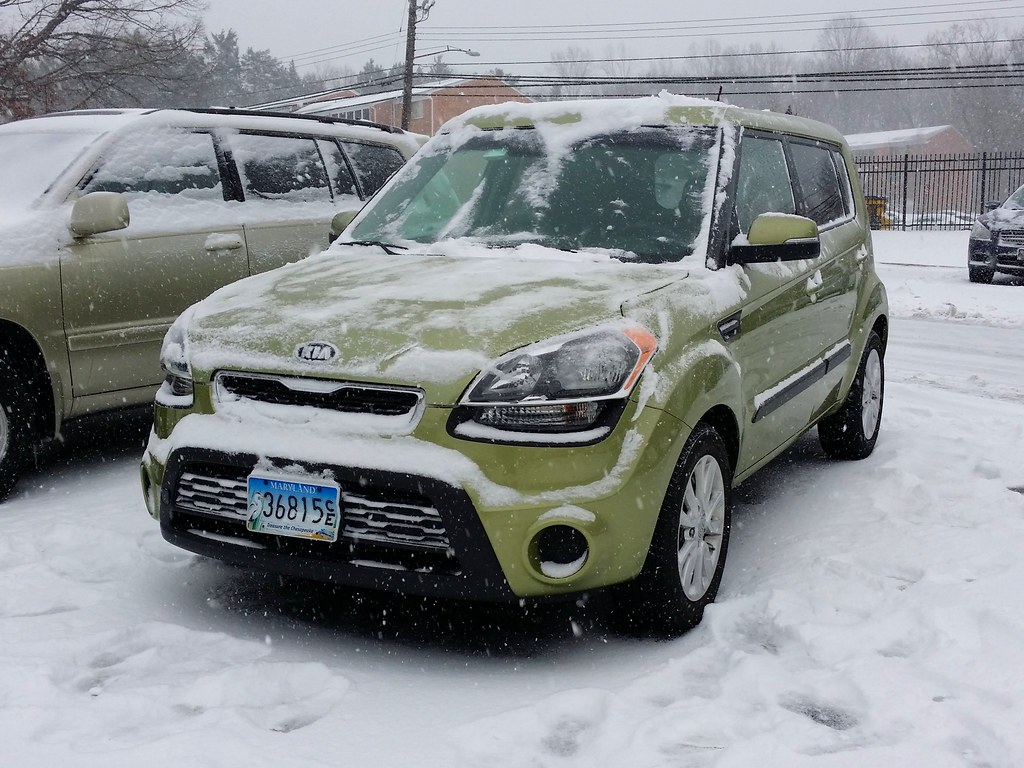 ... Kia Soul After Snow Cleared | By SchuminWeb