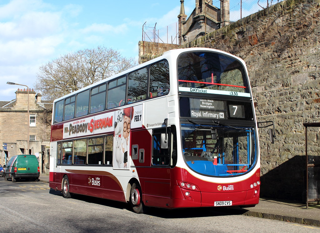 931 sn09 cvs lothian buses 25 02 14 931 was todays l flickr