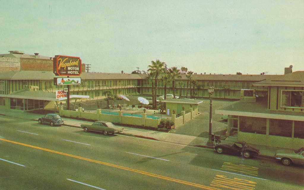 Vagabond Motor Hotel - Hollywood, California