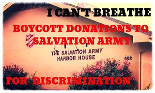 BOYCOTT Donations & Funding to Salvation Army | by The People's Prodigy**Fugitive Savant
