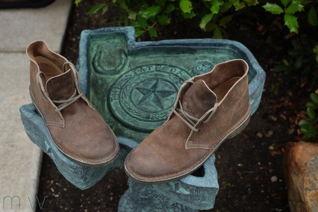 clarks distressed taupe desert boots 78354 mwbutterfly flickr