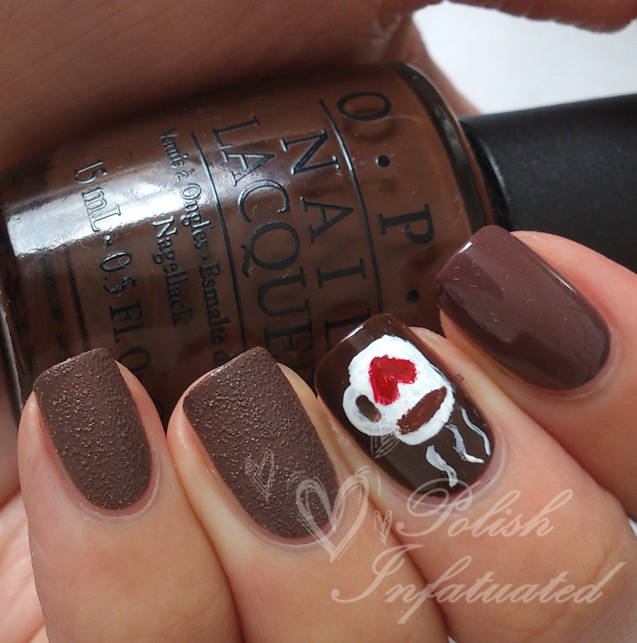 Hot Chocolate Nail Art Polishinfatuated Flickr