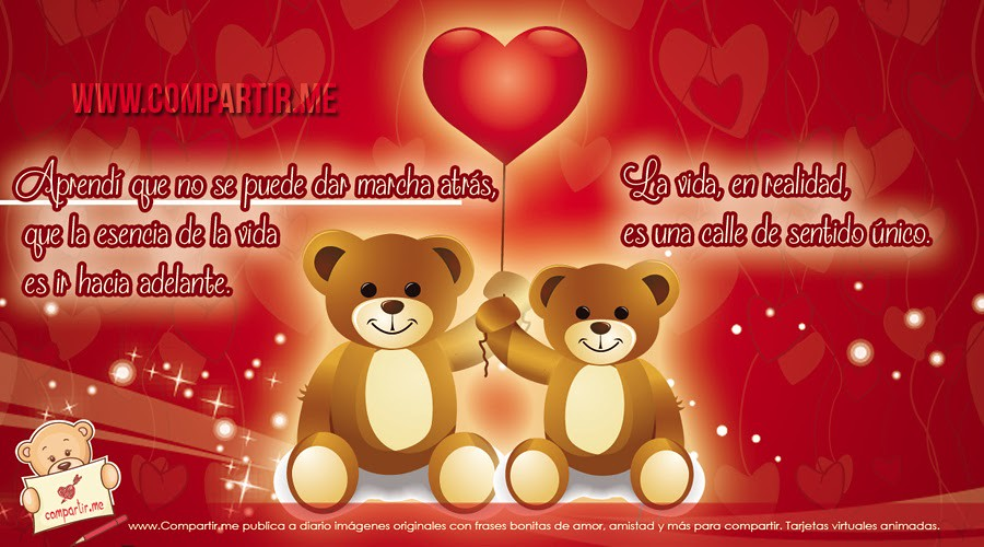 Frases De Amor Frases Bonitas Con Ositos Tiernos Unidos P Flickr
