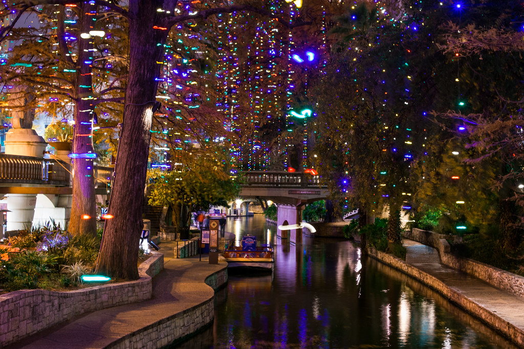 San Antonio Riverwalk Christmas Lights | Nan Palmero | Flickr