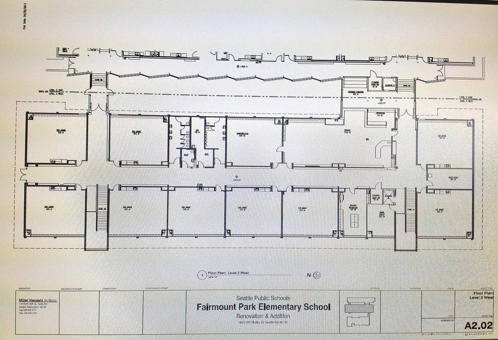 Floor Plan Second Floor Original Classroom Building Flickr