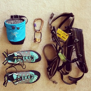 124/365 - Geared-Up for Climbing #project365 | by brinstar