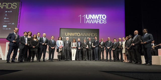 11th UNWTO Awards for Excellence and Innovation in Tourism, Madrid, Spain, 29 January 2015