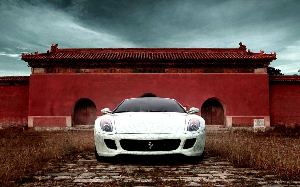 New Post 2009 Ferrari 599 Gtb Fiorano China Hd Wallpaper Flickr