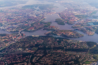 Stockholm from above | by Anton Nikolov