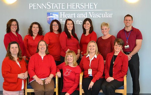 Wear Red Day at Penn State Hershey Medical Center | by Penn State Hershey