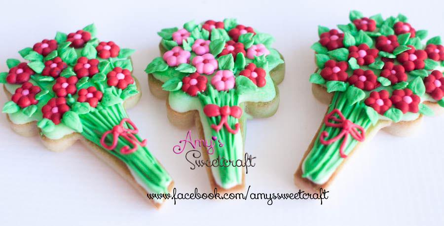 flower bouquet cookies | flower bouquet cookies | Flickr