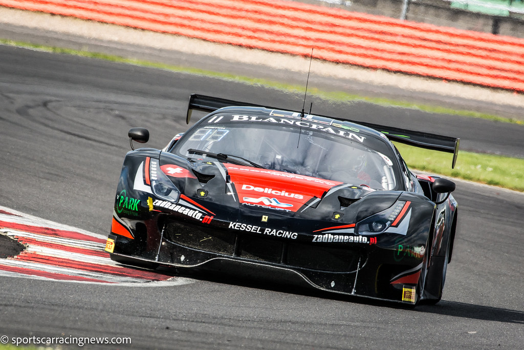 ... Kessel Racing Ferrari 488 GT3 Blancpain Endurance Series Silverstone  2016 Sportscar Racing News | By Sportscar