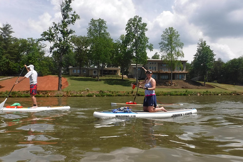 Kayaking and SUP on Saluda Lake-6