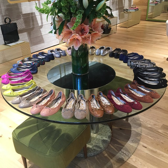 Rainbow of Felicia Ballet Flats at Sam Edelman