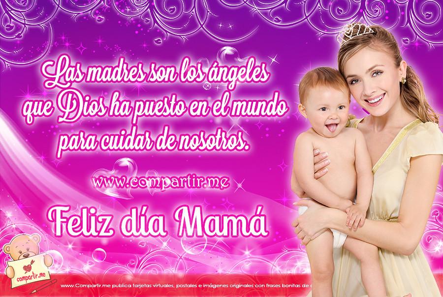 Frases De Amor Tarjeta Musical Por El Dia De La Madre Flickr