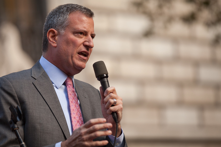 Image result for bill de blasio