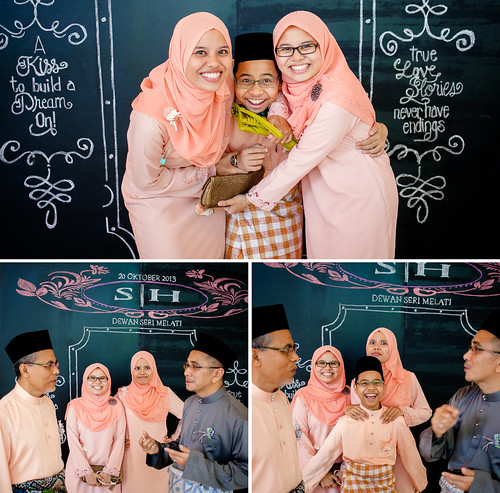 Hafiizh + Syuhada // Reception | by diloz