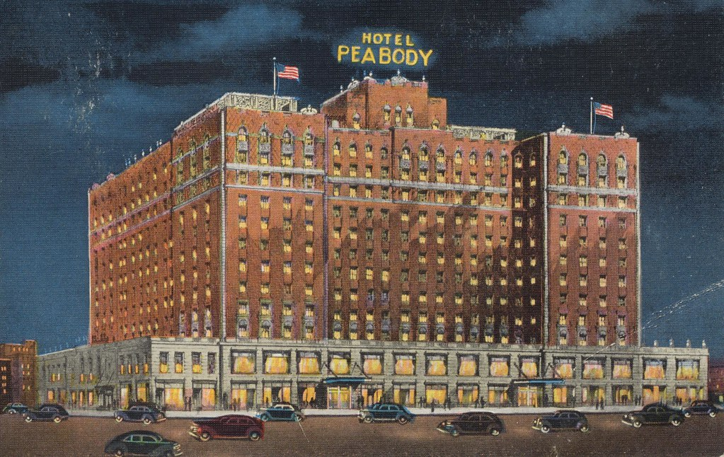 Hotel Peabody - Memphis, Tennessee