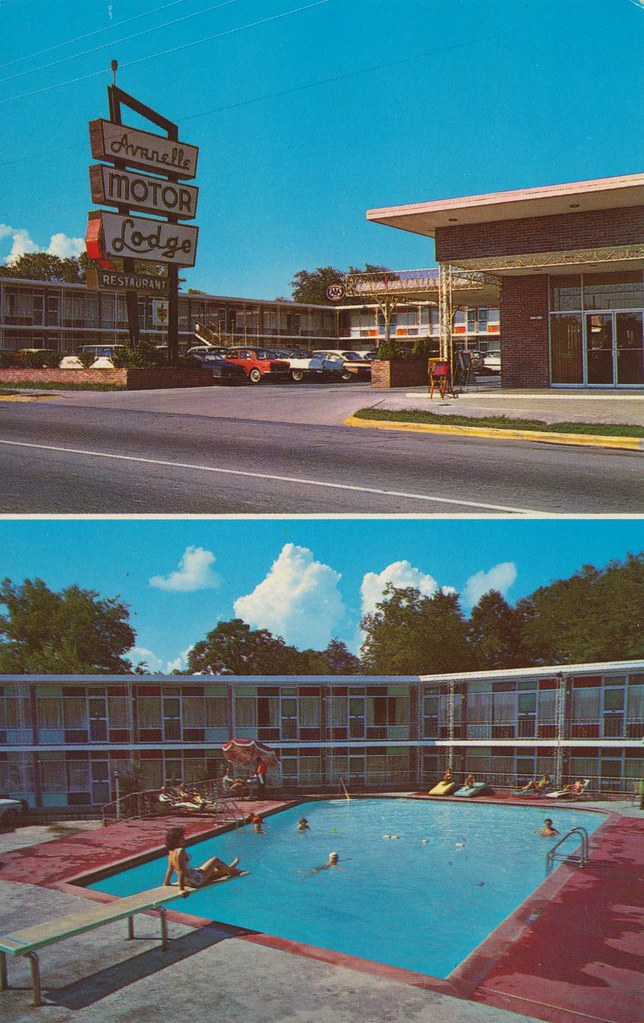Avanelle Motor Lodge - Hot Springs National Park, Arkansas