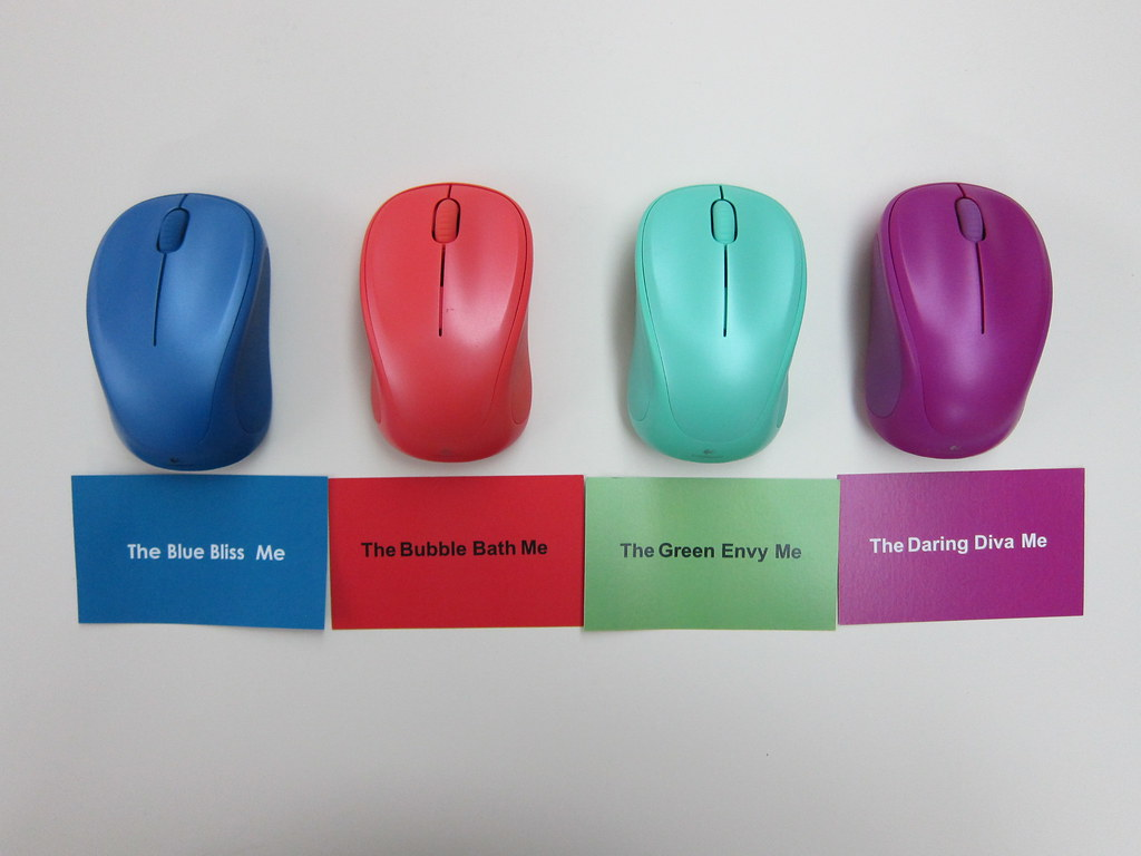 Logitech Wireless Mouse M235 (2014 Color Collection) - 4 C… | Flickr