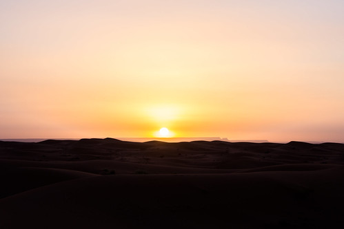 sunrise in the Sahara | by lizziemoch