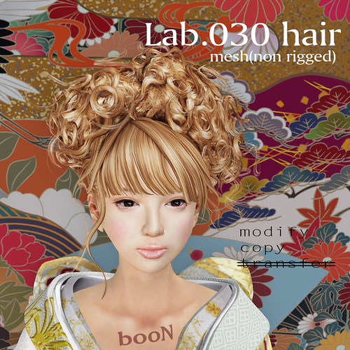 booN Lab.030 hair