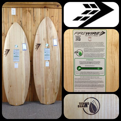 The FireWire Timber Tek boards have landed! This is some next gen stuff, another must see. Heritage Ocean City just got 2 Baked Potatos in this new surfboard construction. It's a huge step forward to the goal of a creating a 100% recycled surfboard. #heri | by Heritage Surf Shop
