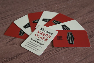 My fresh business cards | by martinvalasek