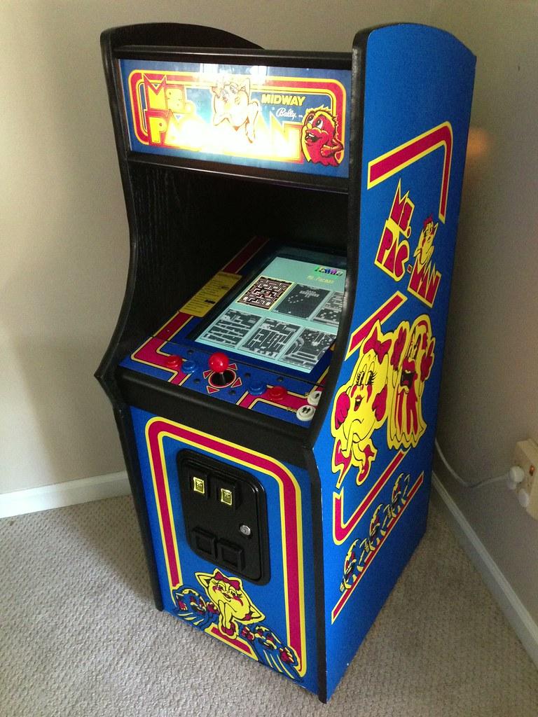 Ms Pac Man Mini Arcade Cabinet Flickr
