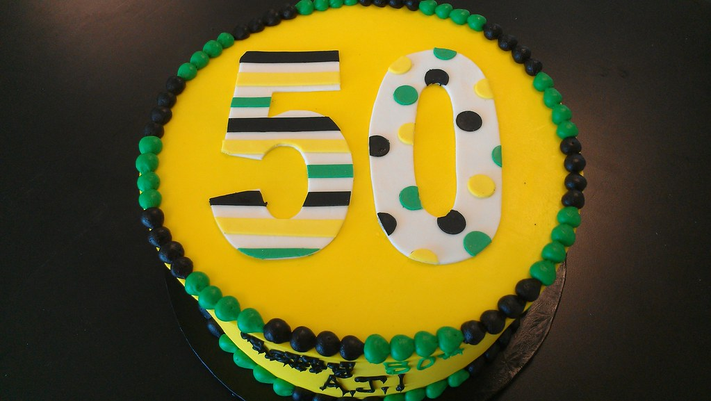 Jamaicainspired 50th birthday cake Please allow at least Flickr