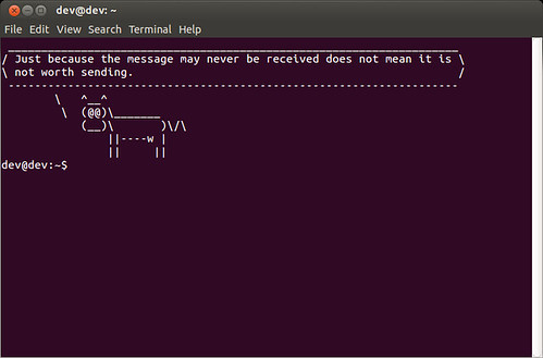 Welcome Message in Linux Terminal | by xmodulo