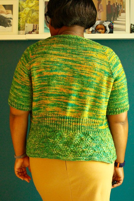 Sea grass cardigan