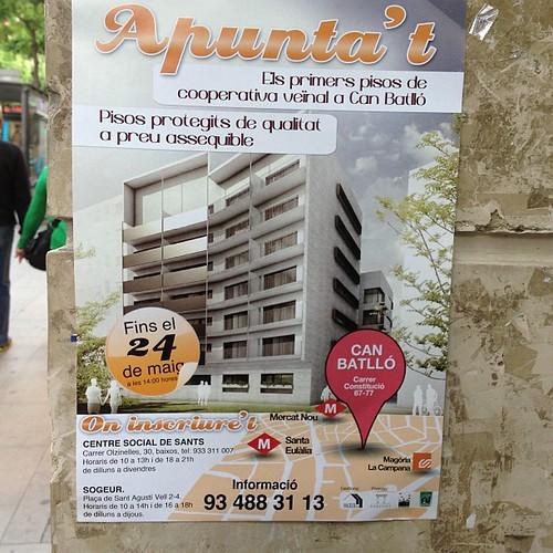 Pisos protecci oficial canbatll barcelona mar - Pis proteccio oficial barcelona ...