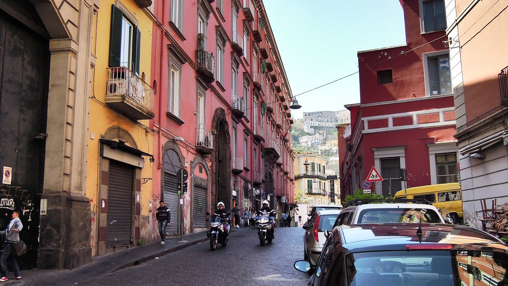 Via Tarsia, Naples, Campania