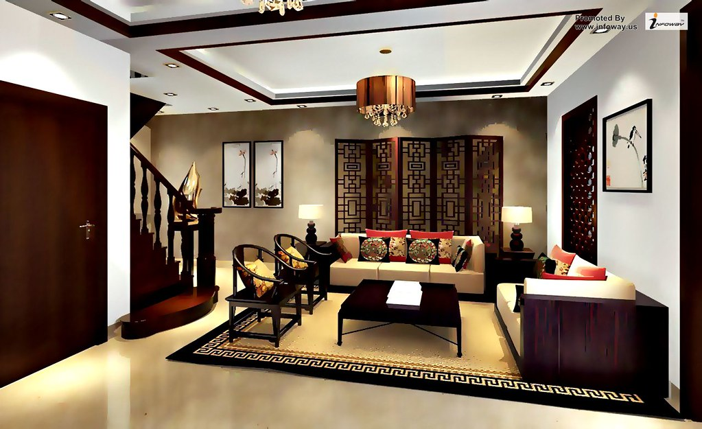 Classic Chinese Living Room Interior Design Classic Chines Flickr