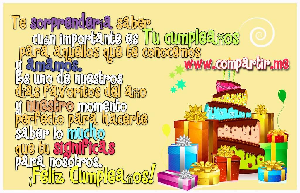 Frases De Amor Frase De Felicitaciones De Cumpleanos Con Flickr