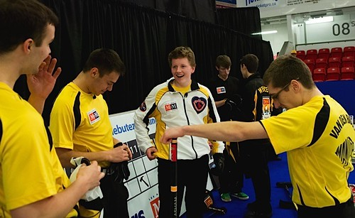 Team Manitoba celebrates their win | by seasonofchampions