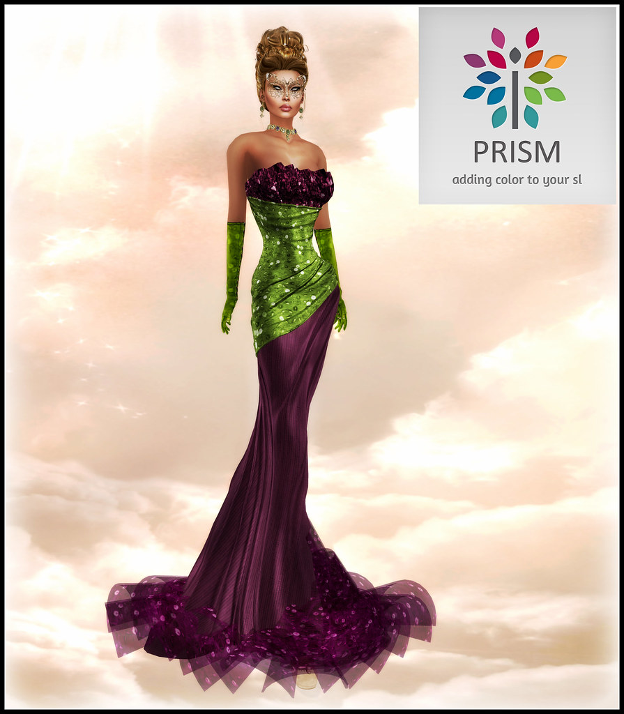 MARDI GRAS with PRISM   LANIA GOWN by JOURNEY for PRISM If y…   Flickr