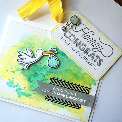 Baby Shower Card & Tag